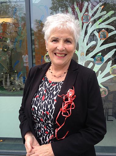 Burgemeester Hetty Hafkamp van de gemeente Bergen